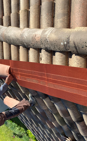 Changement closoir de faitage à sec à Toulouse 2