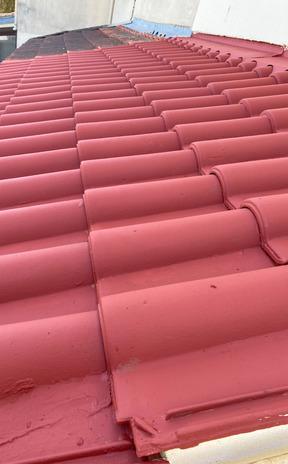 Après nettoyage complet de la toiture à L'Union