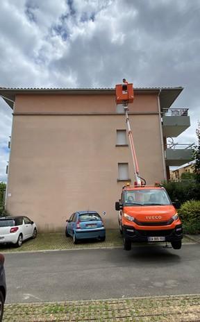 Nettoyage et entretien de façades à Toulouse