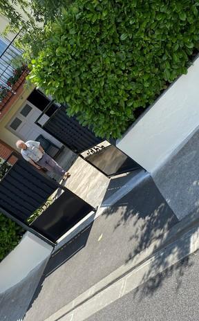Ravalement de façade de murette à Ramonville St Agne 31