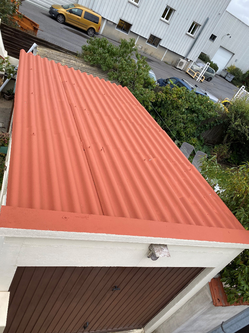 Rénovation de toiture Everite à Toulouse