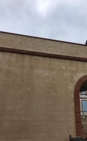 Ravalement de façade après travaux à Toulouse