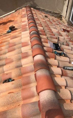 Rénovation faitage toiture toulouse